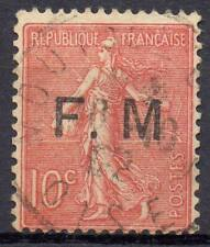 FRANCE !  Timbre ancien de Franchise Militaire de 1906 n°4a