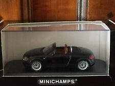Audi TT Roadster pneus Bridgestone MINICHAMPS 1/43 RARE !!