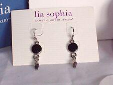Beautiful Lia Sophia RODEO Dangle Earrings, NWT