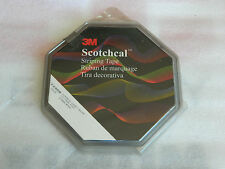 """1 BRAND NEW ROLL 3M 72408 SCOTCHCAL BLUE PIN STRIPING TAPE 1/2"""" WIDE X 150' LONG"""