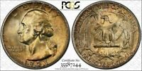 1953-S WASHINGTON 25 CENTS BU PCGS MS66 TONED COIN IN HIGH GRADE