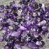 500g Natural Dream Amethyst Quartz Crystal Tumbled Bulk Stones Gravel Reiki