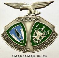 """Alpini Battaglione Logistico Cadore dist. Esercito Italiano prod. Granero """"826"""""""