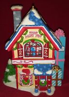Extremely Rare Dept 56 Rudolph Village Misfit Toy Shop & Train 2008 In Boxes