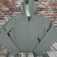 Nike Womens Sportswear Tech Pack Packable Crop Hoodie Jacket Green SZ Small