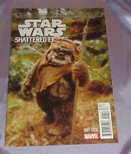 Star Wars Shattered Empire #1~Wicket/Ewok 1:25 Variant~Cgc Worthy~Marvel Movie~