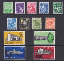 More details for nigeria 1961 mint definitive set sg89-101