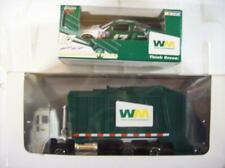 Set of 2 WM Waste Management Nascar Race Car & Garbage Truck 1:64 Scale