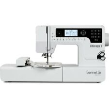 Bernette Chicago 7 Embroidery Sewing Machine Refurbished
