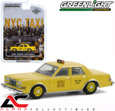 PRESALE GREENLIGHT 30199 1:64 1984 DODGE DIPLOMAT NYC NEW YORK CITY TAXI