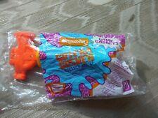 Mcdonalds Happy Meal Nickelodeon Gotcha Gusher Water Gun Squirt Toy 1992 MTV...