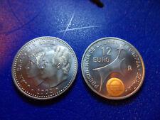 12 EUROS PLATA / SILVER 2002 SIN CIRCULAR - REY JUAN CARLOS I