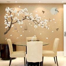 Tree Birds Flower Wall Sticker Home Living Room Bedroom Decor DIY Art Decal Call