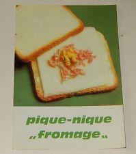 """Fiche Recette de CUISINE Pain JACQUET : Pique-Nique """"Fromage"""" - Vintage"""