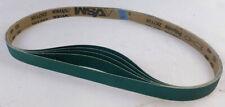 2-1//2 Width 2-1//2 Width 60 Length VSM Abrasives Co. VSM 247120 Abrasive Belt Coarse Grade Black Cloth Backing 36 Grit 60 Length Silicon Carbide Pack of 10