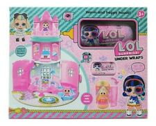 More details for lol surprise house playset | doll play house lights up and music