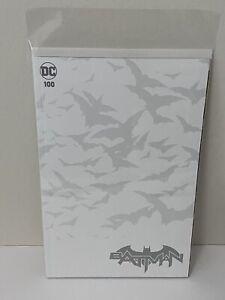 Batman #100 Blank Sketch Cover Variant 🔥 NM