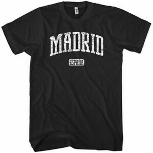 Madrid T-shirt - Espana Spain Spanish Real Atletico Blancos Tee - XS to 4XL