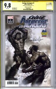 SAVAGE AVENGERS #1 CGC 9.8 SS LUCIO PARRILLO (Midtown Comics PARRILLO variant)