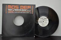 "Mos Def - Beef / Monster Music - 12"" LP - GEFR-26055-1 VG+"