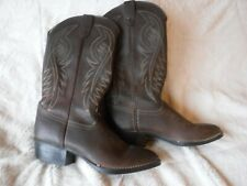 Brown Bronco Boots Size 8 D Pre Owned