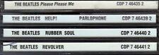 BEATLES 4CD Lot RUBBER SOUL REVOLVER PLEASE ME HELP Classic 60s Rock EMI