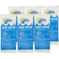 In The Swim 68% Calcium Hypochlorite Swimming Shock  6 X 1 Lbs. Bags