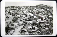 MEXICO ~ 1950's NOGALES SON. ~ Vista a Vuelo de Pajaro ~ BUENOS AIRES BAR ~ RPPC