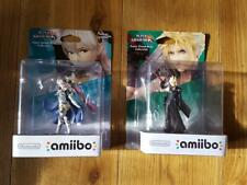 2 X Super Smash Bros Collection CLOUD & CORRIN Amiibo No 58 60 NEW SEALED FF VII