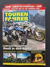 Motorrad Reisen  TOUREN FAHRER  Okt./2018   DUELL IN DEN ALPEN    ungel:,1A TOP