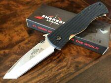 Emerson Knife CQC-7BW-SF Stonewash Plain Edge Wave Prestige Dealer