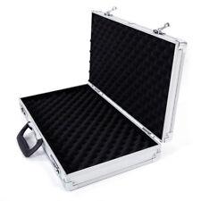 Aluminum New Framed Locking Gun Pistol HandGun Lock Box Hard Storage Carry Case