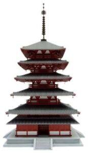 Fujimi Model 1/150 Building Series HORYU-JI Five-Storied Pagoda JAPAN F/S J8281