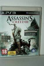 ASSASSIN'S CREED III USATO OTTIMO STATO SONY PS3 EDIZIONE ITALIANA PAL TV1 40600