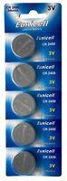 5 x CR2450 ( 3V 540 mAh ) Lithium Batterie 1 Blistercard a 5 Batterien Eunicell