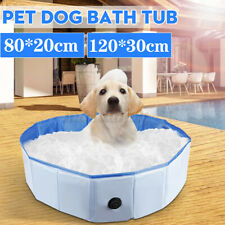 Foldable Dog Swimming Pool Pet Bathtub Outdoor Home Cat Puppy Bathing Pool PVC