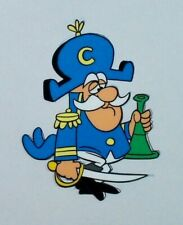 Captain Crunch Animation Cel and Drawing for Commercial – Jay Ward – Coa – Cap'n