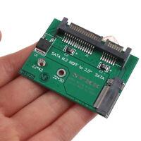 M.2 NGFF SSD Solid State Hard Disk to Half High 2.5 inch SATA3 adapter c iaJ Nk