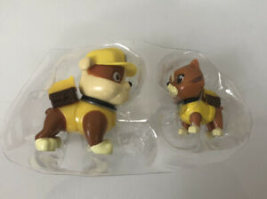 Paw Patrol Kitty Cat Figures CatastropheW/ Rubble Figure HTF / NEW (unboxed)