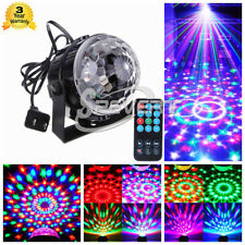 RGB LED Disco DJ Party Crystal Magic Ball Stage Effect Light Lamp Voice Control