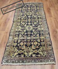 Persian Traditional Vintage Wool 218cmX 77cm Oriental Rug Handmade Carpet Rugs