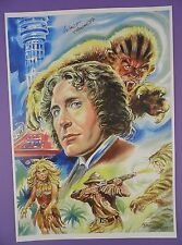 Paul McGann - Doctor Who, Walt Howarth Signed Print - Limited Edition