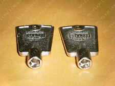 Freezer Door Keys Frigidaire Kenmore Sears Whirlpool 2 Keys Refrigerator Keys 0
