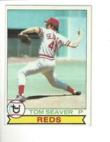 1979 Topps Tom Seaver Cincinnati Reds #100 Baseball Card