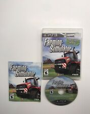 Farming Simulator (Sony PlayStation 3, 2013) COMPLETE!! Disk Very Good!!