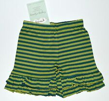 Persnickety Shorts 2 Marley Green Blue Stripe Forget Me Not Shortie NEW kg1