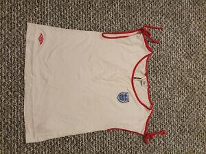 England ladies football shirt Umbro size 16