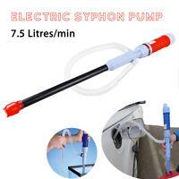 Electrique Pompe à Pile Pr Gasoil Carburant Petrole Eau Solvant Siphon Transfert