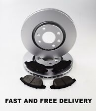 GENUINE COMLINE PEUGEOT 207 1.4,1.6 + HDI FRONT BRAKE PADS AND COATED DISCS