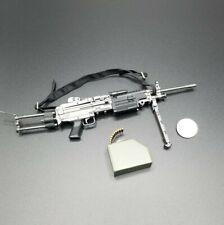 "1:6 Dragon M249 Para-SAW Machine Gun 12"" GI Joe BBI Dam Hot Toys Army Ranger"